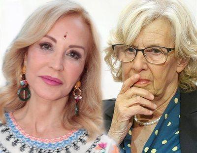 "Carmen Lomana arremete contra Carmena: ""Es una inconsciente que chochea"""