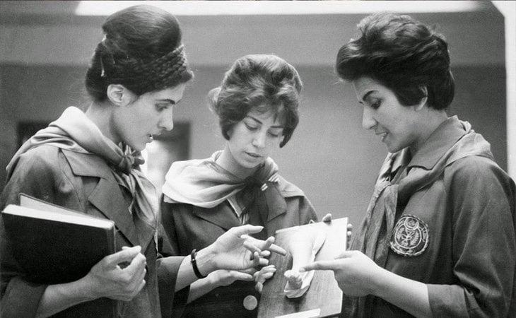 Universidad de Kabul en 1960