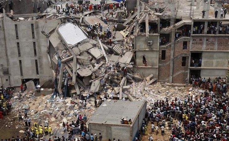 La fábrica textil Rana Plaza en Dacca, la capital de Banglaseh, dejó más de 1.000 muertos tras no contar con ninguna revisión previa sobre su estado
