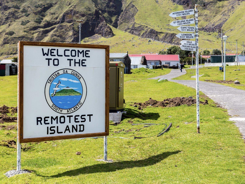 Así se vive en Tristán da Cunha, la isla más aislada e inaccesible de todo el planeta
