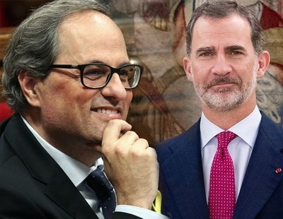 """Quim Torra: """"Felipe VI ya no es el rey de los catalanes"""""""