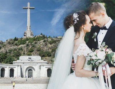 Así es una boda en el Valle de los Caídos: entre las lápidas de Franco y Primo de Rivera
