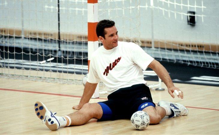 Iñaki Urdangarín cuando era jugador de Balonmano