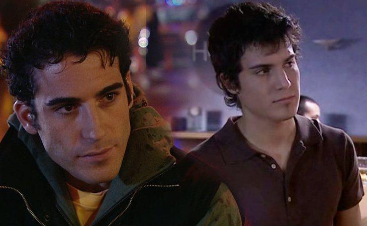 Miguel Ángel Silvestre y Álex González interpretaron a Nacho en 'Motivos personales'