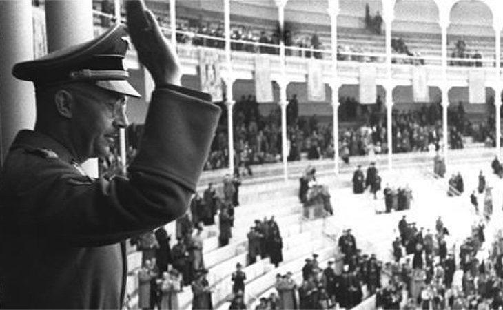 Himmler en la plaza de toros de Las Ventas