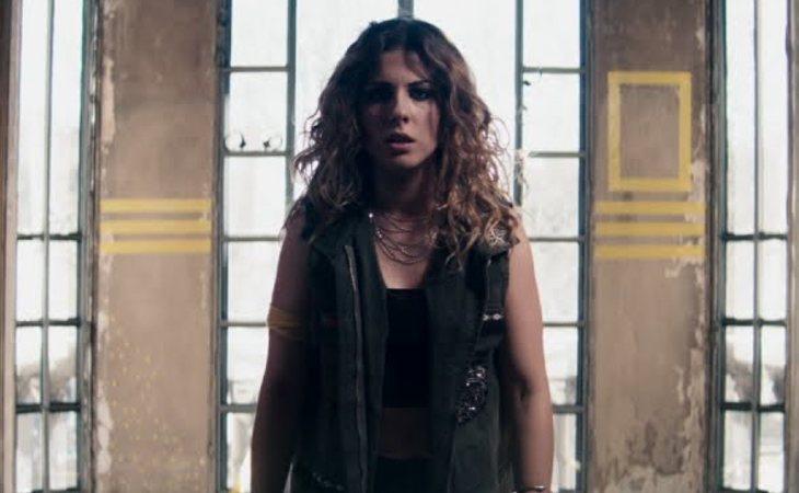 Miriam Rodríguez en el videoclip de 'Hay algo en mí'