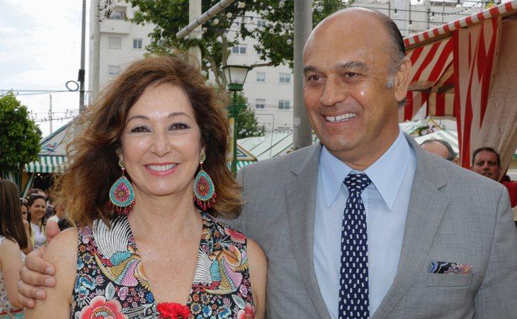 Ana Rosa Quintana y su marido Juan Muñoz