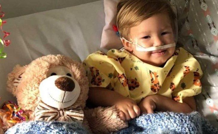 William se encuentra hospitalizado tras beber leche cruda