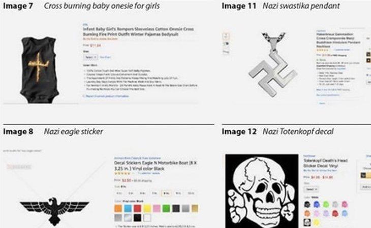 Productos que vendía Amazon en su web