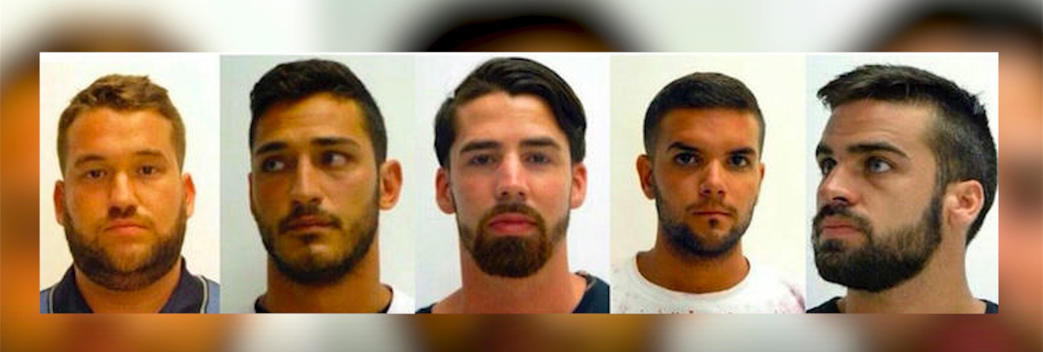 Un vídeo muestra a miembros de 'La Manada' robando gafas de sol un día antes de San Fermín