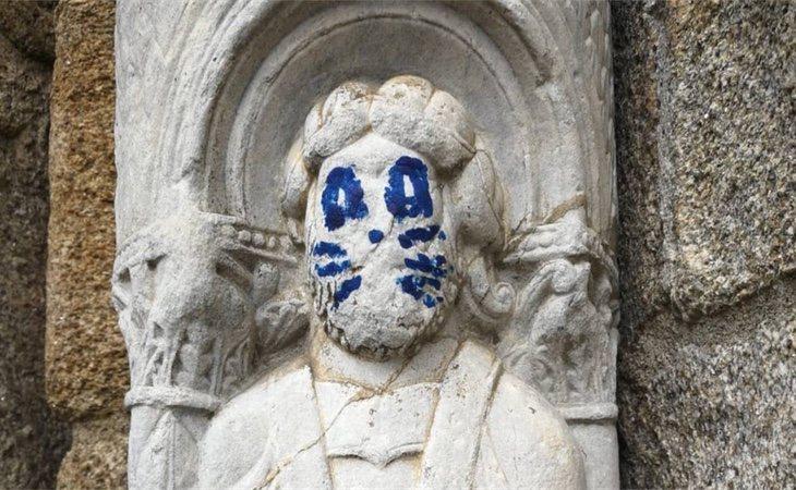 La escultura víctima del acto vandálico (Europa Press