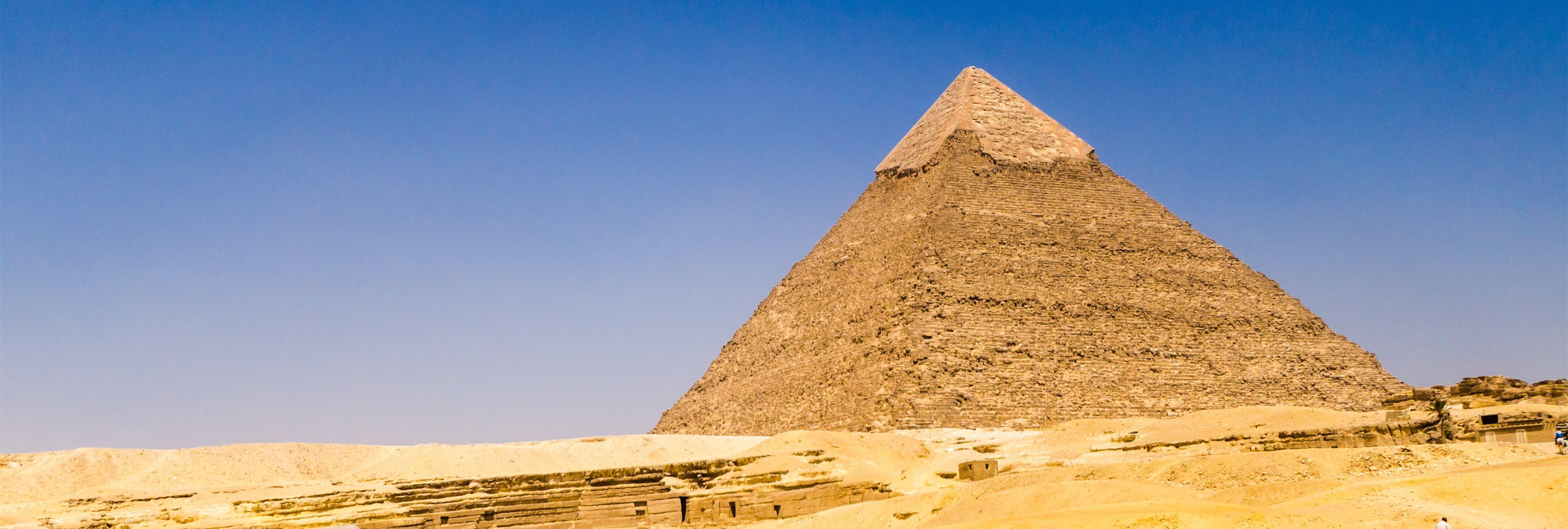 Investigadores descubren que la Pirámide de Guiza condensa energía electromagnética