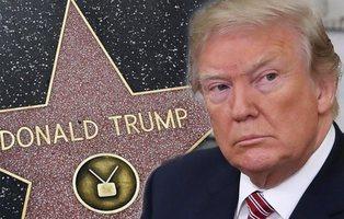Hollywood quiere retirar la estrella de Donald Trump del Paseo de la Fama