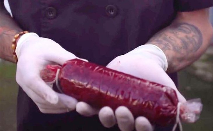 Morcillas veganas de sangre humana, una realidad