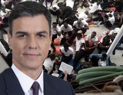 El marketing de Pedro Sánchez en la crisis del Aquarius deja consecuencias muy peligrosas