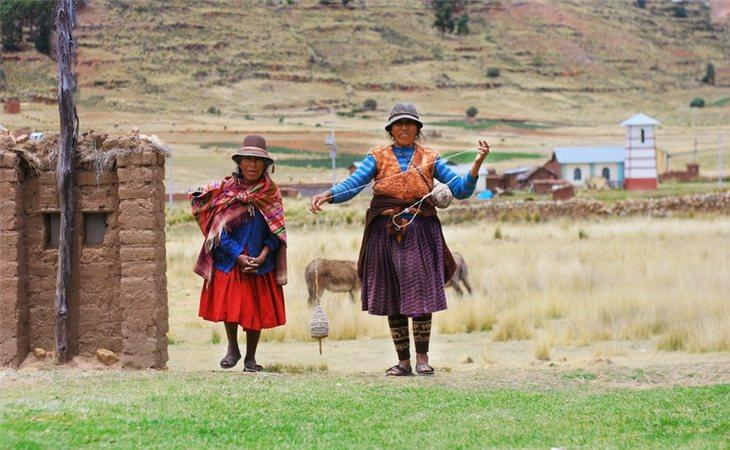 Mujeres de la comunidad Aymara