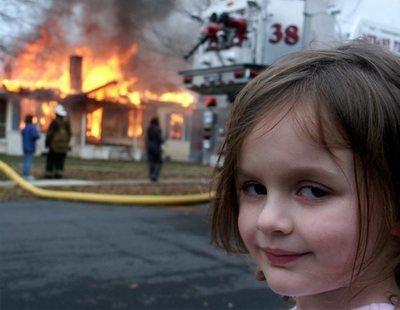 La niña pirómana: así ha cambiado la protagonista de tu meme favorito