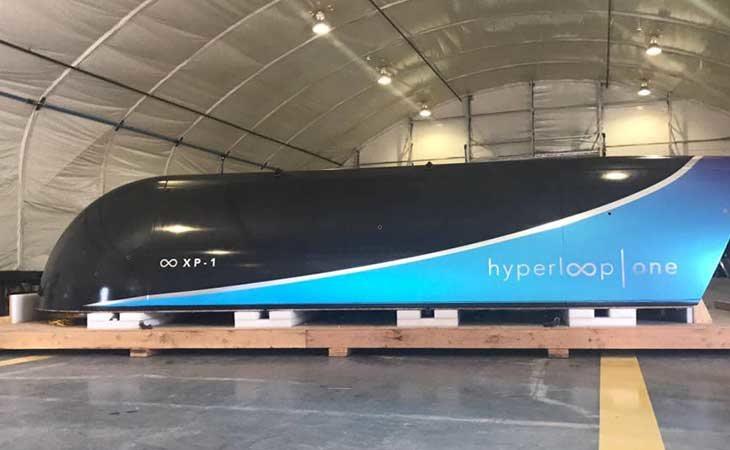 El Hyperloop se desarrollará finalmente en Málaga