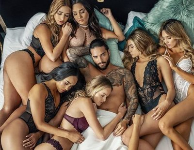 'Mala mía', el nuevo videoclip machista de Maluma: rodeado de mujeres en ropa interior