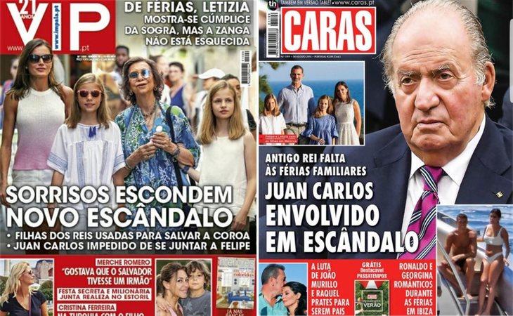 Los escándalos de la familia real española llegan hasta Portugal