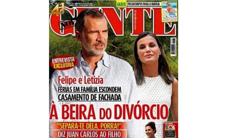 La prensa portuguesa pone fecha al divorcio de Felipe y Letizia