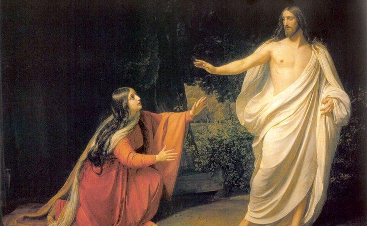 María Magdalena, la primera en ver a Cristo resucitado