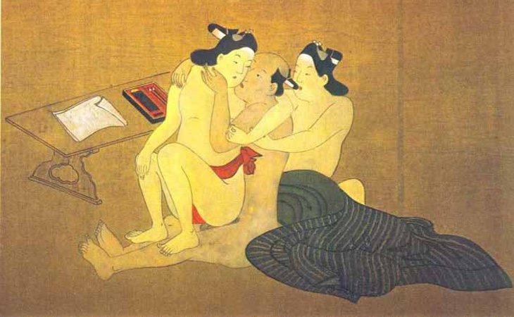 La homosexualidad era práctica común en todos los estamentos de los samuráis