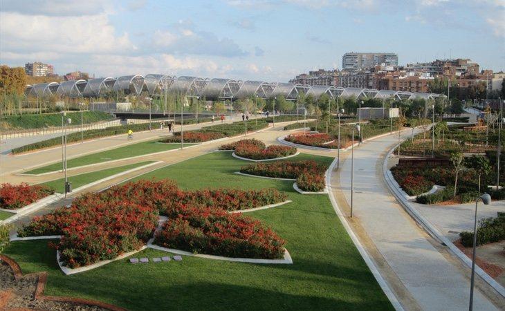 La construcción del parque Madrid Río dejó uno de los mayores agujeros de deuda de la capital