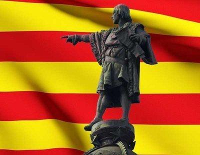 """El independentismo convoca una fiesta para celebrar """"el descubrimiento catalán de América"""""""