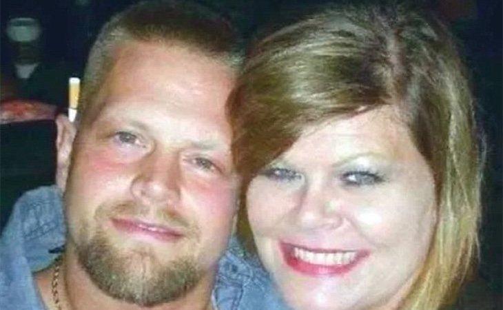 Joseph Oberhansley y su novia Tammy Jo Blanton