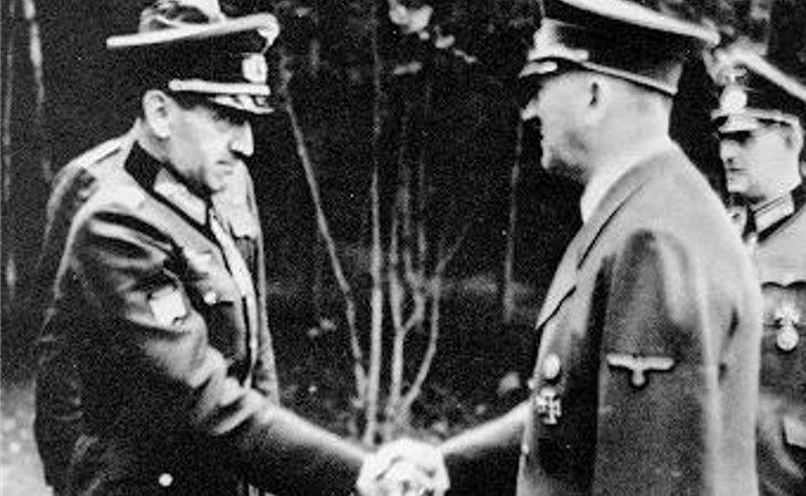 Muñoz Grandes y Hitler