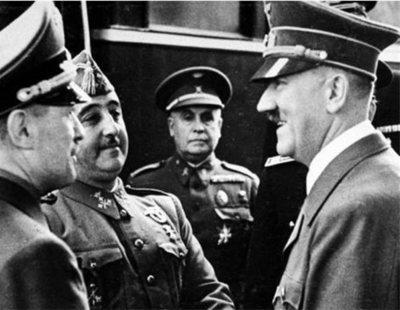 """Guerra entre genocidas: Hitler no aguantaba a Franco y le calificaba de """"amanerado"""""""
