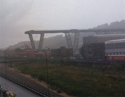 Al menos 21 muertos y múltiples heridos al derrumbarse un puente en Génova
