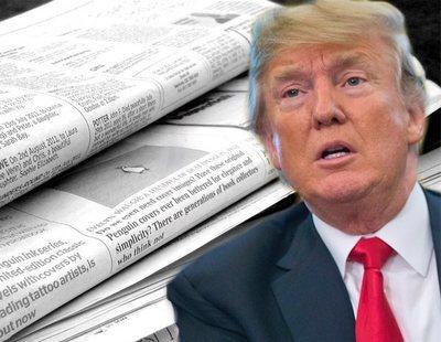 Más de 300 periódicos de Estados Unidos denuncian los ataques de Trump a la prensa
