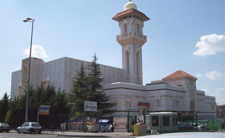Mezquita de la M30 en Madrid