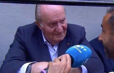 """El Rey Juan Carlos I: """"Me encanta ir donde haya buenas corridas"""""""