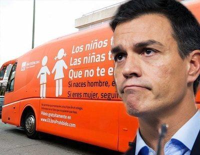 El Gobierno de Pedro Sánchez descarta retirar la utilidad pública a Hazte Oír tras pedirlo en la oposición