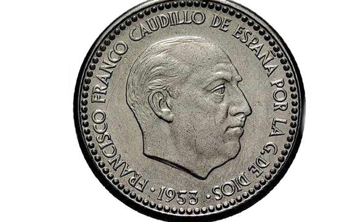 Algunas pesetas de Franco llegan a valer hasta 20.000 euros