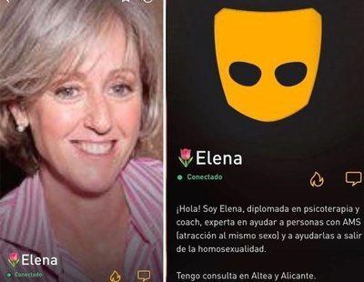"""Una coach se abre perfil en Grindr para promocionar terapias que """"curan"""" la homosexualidad"""