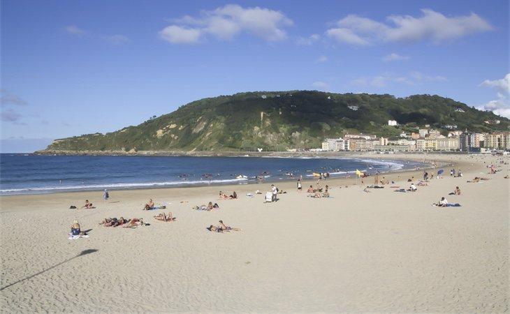 Playa de Zurriola, San Sebastián