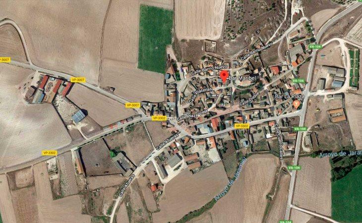 Castrillo-Tejeriego, pueblo de Valladolid donde ha tenido lugar el tiroteo en un bar