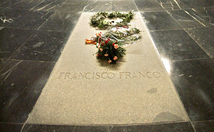 Tumba del dictador Francisco Franco en el Valle de los Caídos