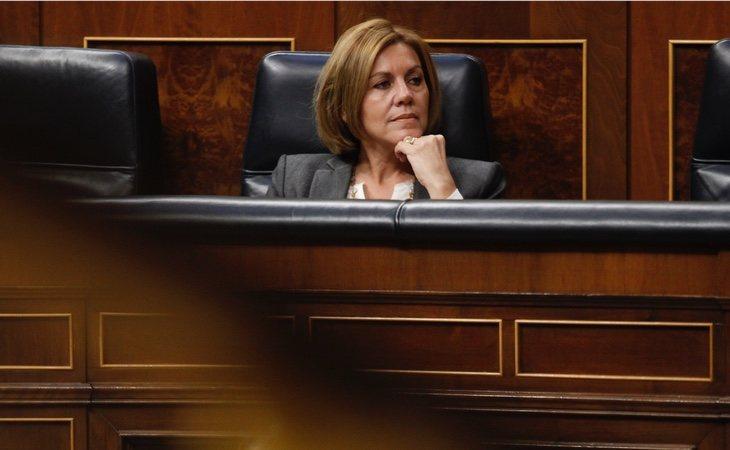 María Dolores de Cospedal, actual presidenta del PP en Castilla-La Mancha