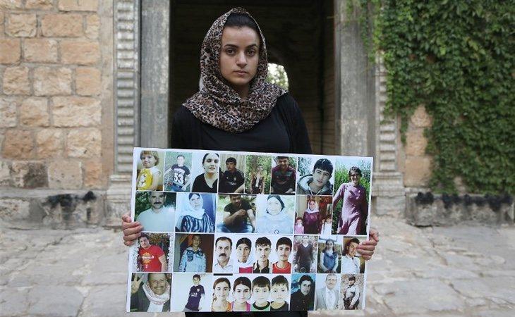 Ashwaq fue secuestrada durante diez meses por un terrorista que abusó sexualmente de ella