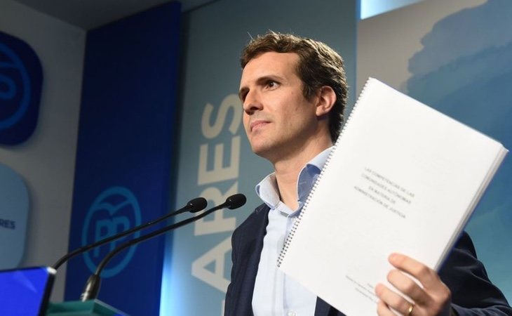 Pablo Casado mantendrá un perfil bajo durante el debate de la propuesta