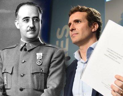 El PP ahora no se opone a la exhumación de los restos de Franco
