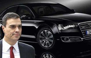 """El """"nuevo"""" coche oficial de 500.000 euros de Pedro Sanchez es mentira"""