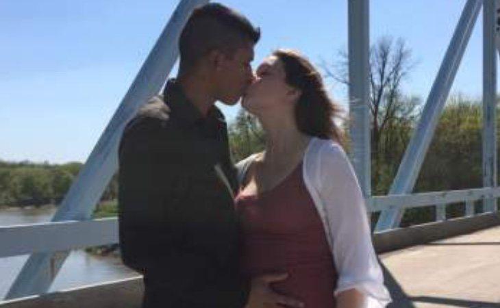 La pareja estaba esperando un bebé