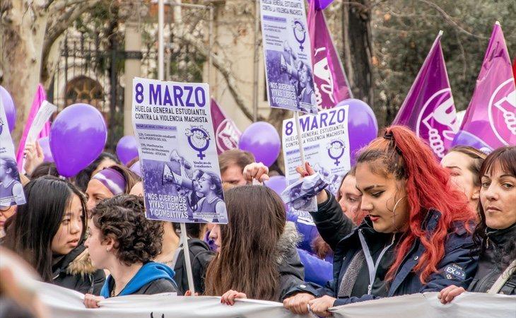 Ciudadanos criticó duramente la huelga del 8 de marzo, que terminó siendo un auténtico éxito