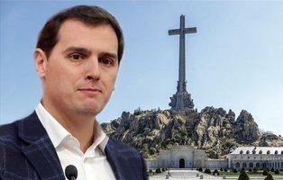 Ciudadanos no apoya la exhumación de Franco: ¿Albert Rivera está enterrando su partido?